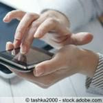 Smartphones und Tablet