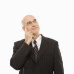 Business Nachdenken Nach Konzepten suchen