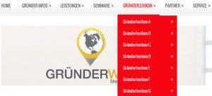 Gründer Welt: Gründer Lexikon