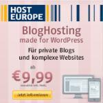 Wordpress BlogHosting auf schnellen SSD Festplatten