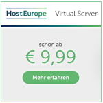 Virtual Server HostEurope