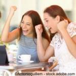 Junge Menschen Erfolg