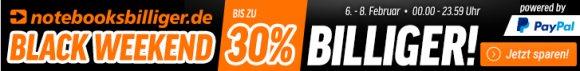 Black Weekend: bis zu 30% Rabatt auf Notebooks, Software und mehr
