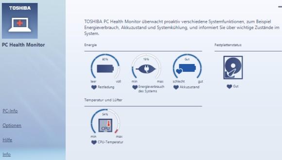 Toshiba Health Monitor