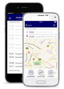 o2 Car Connection mit Fahrtenbuch Zusatzoption für Selbständige