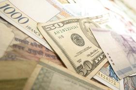 Devisen und Dollar
