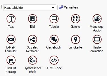 Extra Module WebSite X5