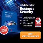 Bitdefender Business Security für Unternehmen 3 Monate gratis on top