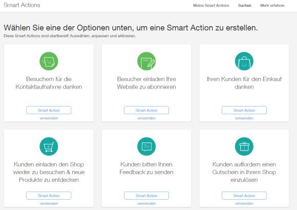 WixStore Online Shop Smart Action