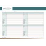 PDF Geschäftsformular für Projekt - Aufgabenerfassung (Business)