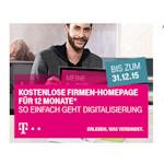Telekom: Homepage-Produkte für Geschäftskunden 12 Monate für 0,- Euro/Monat (Angebot)