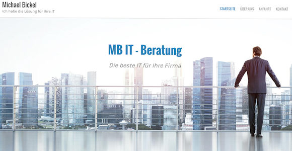 Homepage erstellt mit Webvisitenkarte.net