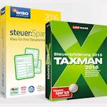 5 Euro Gutschein für WISO SteuerSparbuch 2016 oder Taxman 2016