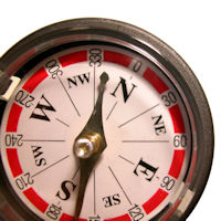 Kompass Magnete