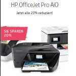 hp officejet pro aio mit 20% Rabatt beim HP Cyber Weekend