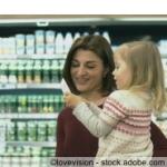 Produkte im Supermarkt verlocken zum Kauf