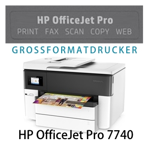 HP OfficeJet Pro 7740 All-in-One Großformatdrucker