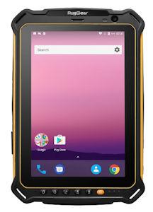 LTE-Tablet RugGear® RG910 mit Android 8.1 für den ultra-robusten Einsatz