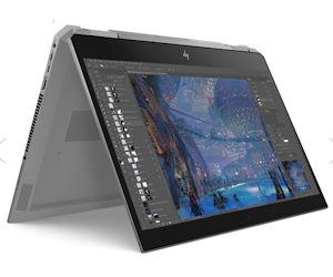 HP ZBook x360 G5 - 360° Workstation für professionelle Anwender aus dem Kreativ-Bereich